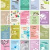 Vector Set of Floral Business Cards