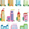 Vector Building Icon Set