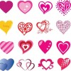 Valentine's Day Card Vector Collection