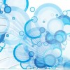 Free Abstract Bubbles Vector Graphic