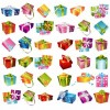 Gift Box Collection Vector Graphic