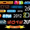 2012 New Year Vector Collection