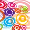Abstract Colored Circles Vector Graphic