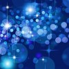 Abstract Bokeh Stars Background