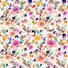 Flowers Seamless Pattern Element Vector Background