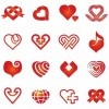 Vector Hearts