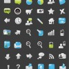 Website Element Icons for Web Design