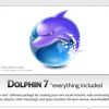 Dolphin 7 – The Best Social Networking Software