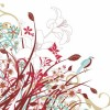 Abstract Floral Flowers Vector Graphic