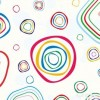 Abstract Colorful Circles Vector Background