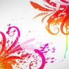 Free Abstract Colored Design Vector Graphic
