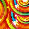 Colored Design Vector Background