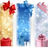 Vector Christmas Illustration with Three Different Vertical Banners