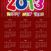 2013 Calendar Vector