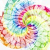 Abstract Colorful Swirl Design Vector Background