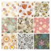 Seamless Floral Background Vector Set
