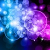 Bokeh Circles Abstract Background Vector Graphic