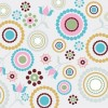 Circles and Dots Abstract Background