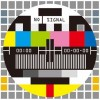 Television Test Screen No Signal Vector Illustration
