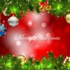 Christmas Card Background Vector Graphic