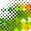 Colorful Dots Background Vector Graphic