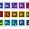 Adobe Creative Suite Family Software Logo Vector