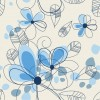 Abstract Summer Floral Background Vector Graphic