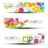 Header Banners Vector Graphic