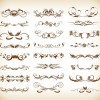 Decorative Elements Vector Graphic Set