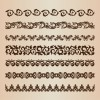 Decorative Borders Vector Set for Design