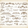 Graphic Elements For Design Vector Set