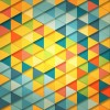 Abstract Polygon Triangles Background Illustration