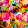 Colorful Geometry Design Abstract Background Vector Illustration