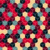 Abstract Cubes Vector Background