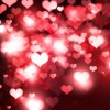 Hearts Bokeh Light Valentine's Day Background