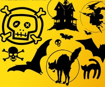 19 Halloween Stamps - Brush Pack