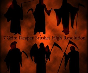 7 Grim Reaper Brushes High Resolution