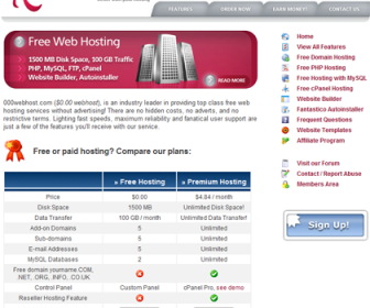 000webhost - Free Web Hosting