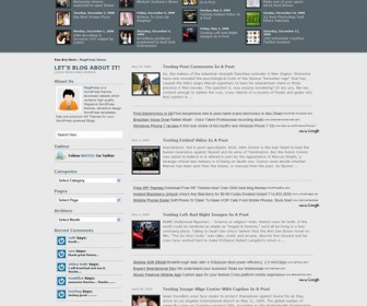 Free WordPress Theme - AppZine