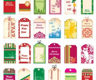 Vector Christmas Tickets and Tags