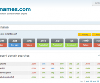 Finding Domain Names Instantly with PCNames.com