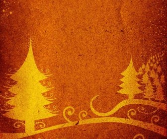 Abstract Christmas Tree Graphic
