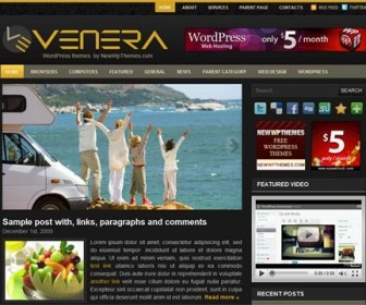 Free WordPress Theme - Venera