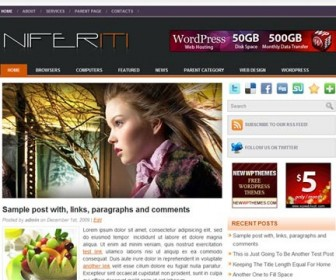 Free WordPress Theme - Niferiti