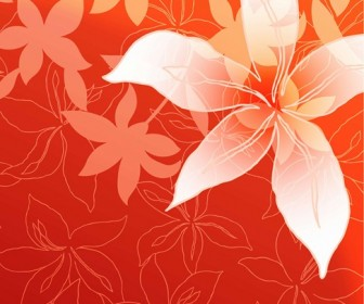 Lily Flowers Vector Graphic