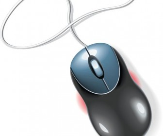 Computer Mouse Vector Illustration