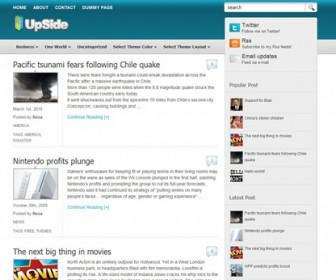 Free WordPress Theme - UpSide