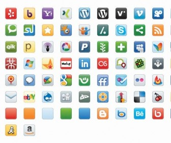 Free Vector Social Media Icons