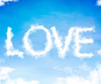 Love Clouds in The Sky
