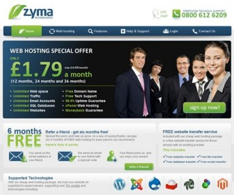 Zyma.com Cheap Web Hosting